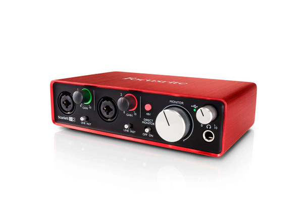 Focusrite Scarlett 2i2 (2nd Gen) Interfaz de Audio