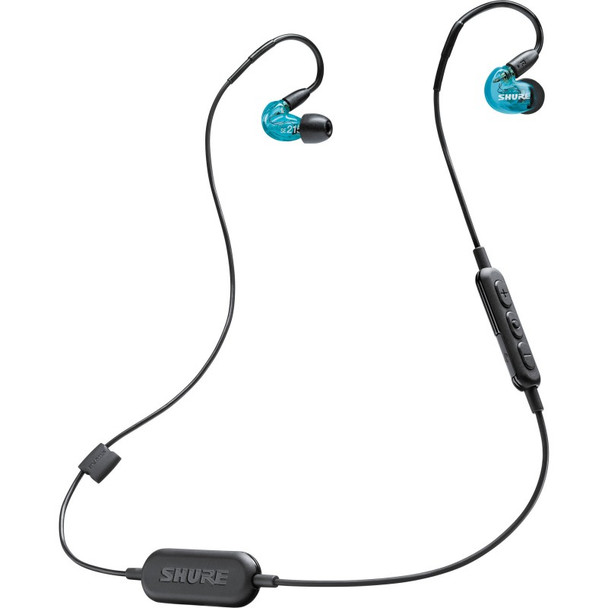 Shure SE215 Edición Especial Azul - Audífonos In-Ear Wireless Bluetooth