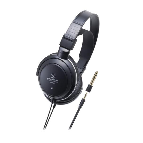 Audio-Technica ATH-T200 Audífonos Over-Ear Negro