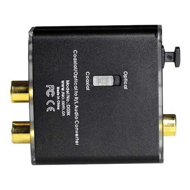 FiiO D03K - Convertidor Coaxial/Óptico
