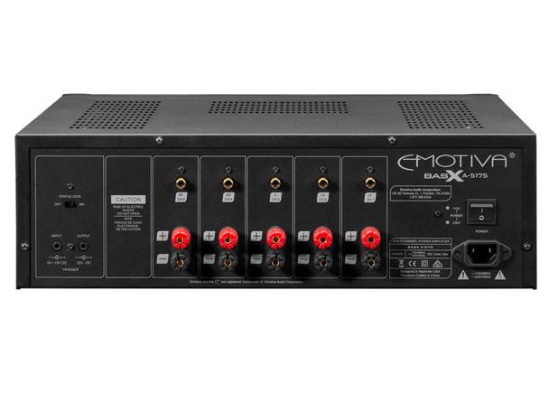 Emotiva BasX A-5175 Amplificador Multicanal 5 Canales
