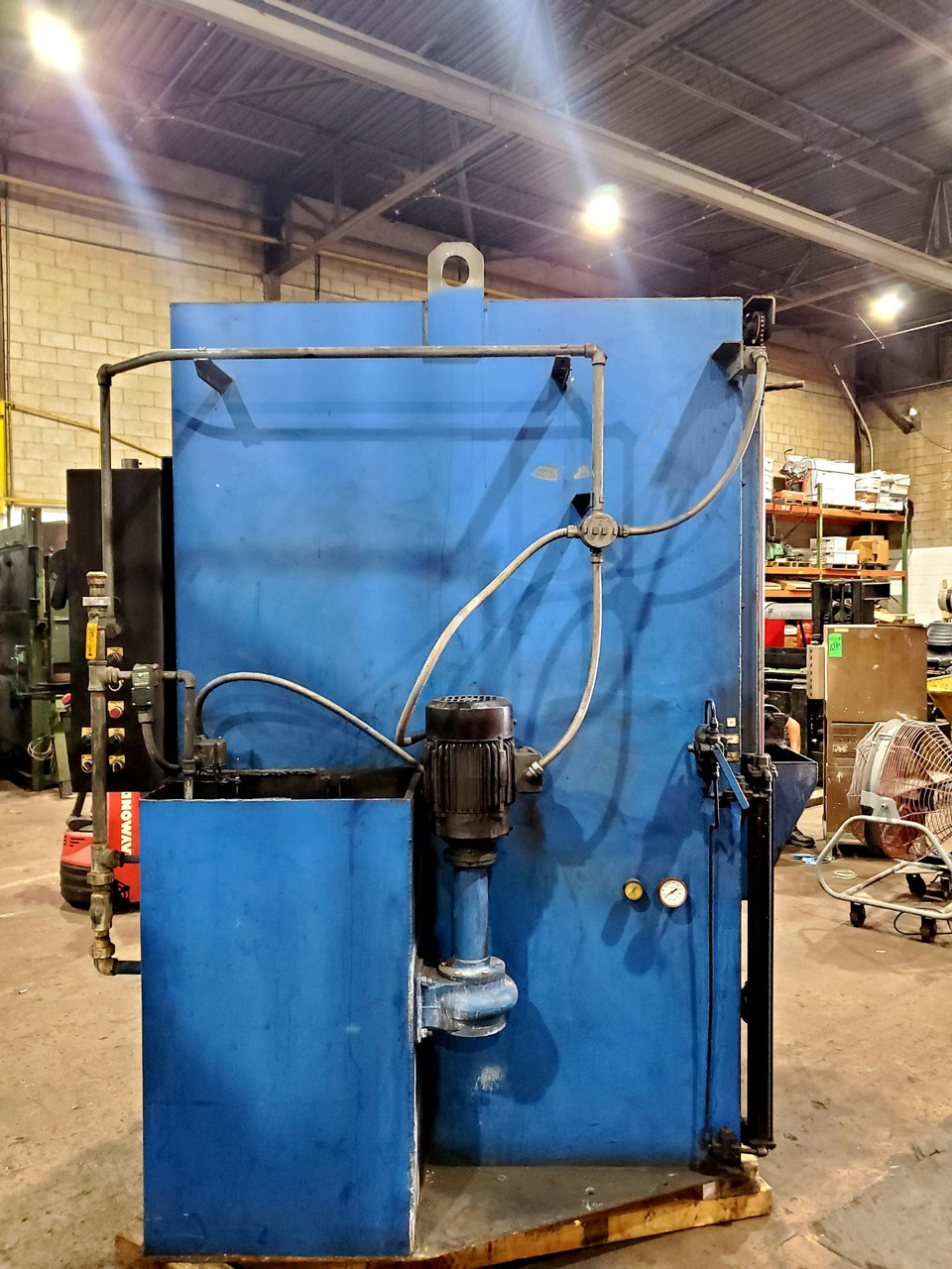 """Surface Combustion 36x48x30"""" Electrically Heated Spray Washer"""