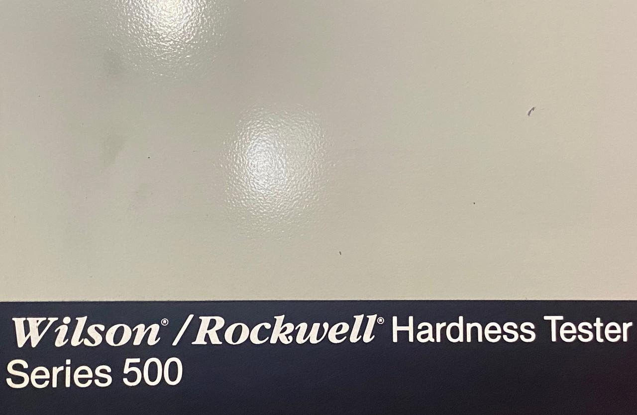 WILSON ROCKWELL MODEL B524T HARDNESS TESTER