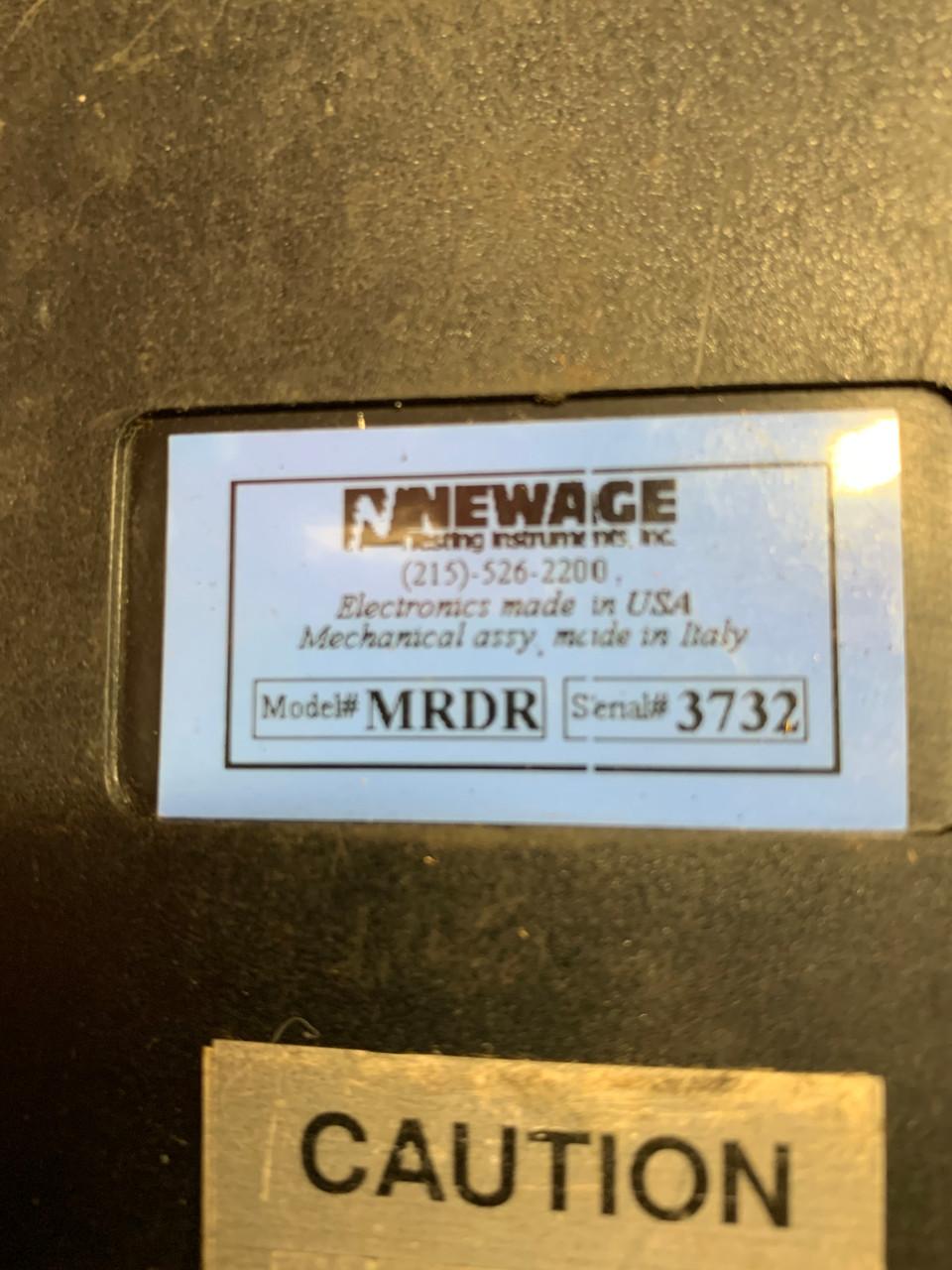 NEWAGE Rockmate Portable Hardness Tester Model MRDR