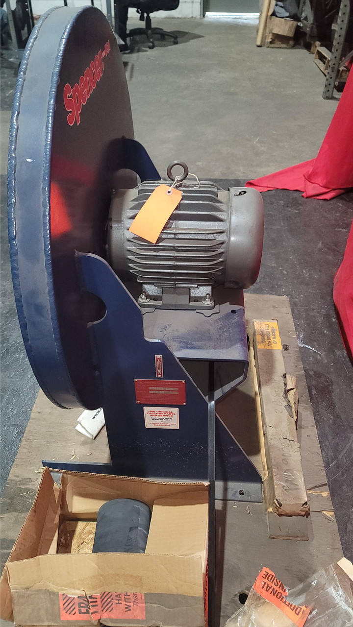 Spencer Single Stage Scroll Blower Model 1002 SS