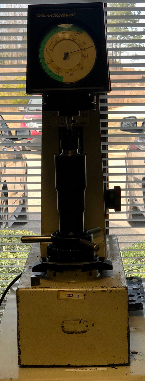 Wilson/Rockwell B503T Hardness Tester 500 Series