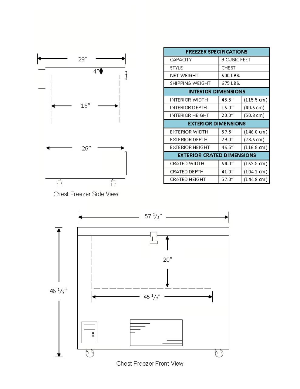 So-Low C85-9 Ultra-Low -85°C Chest Freezer - 9 Cubic Ft