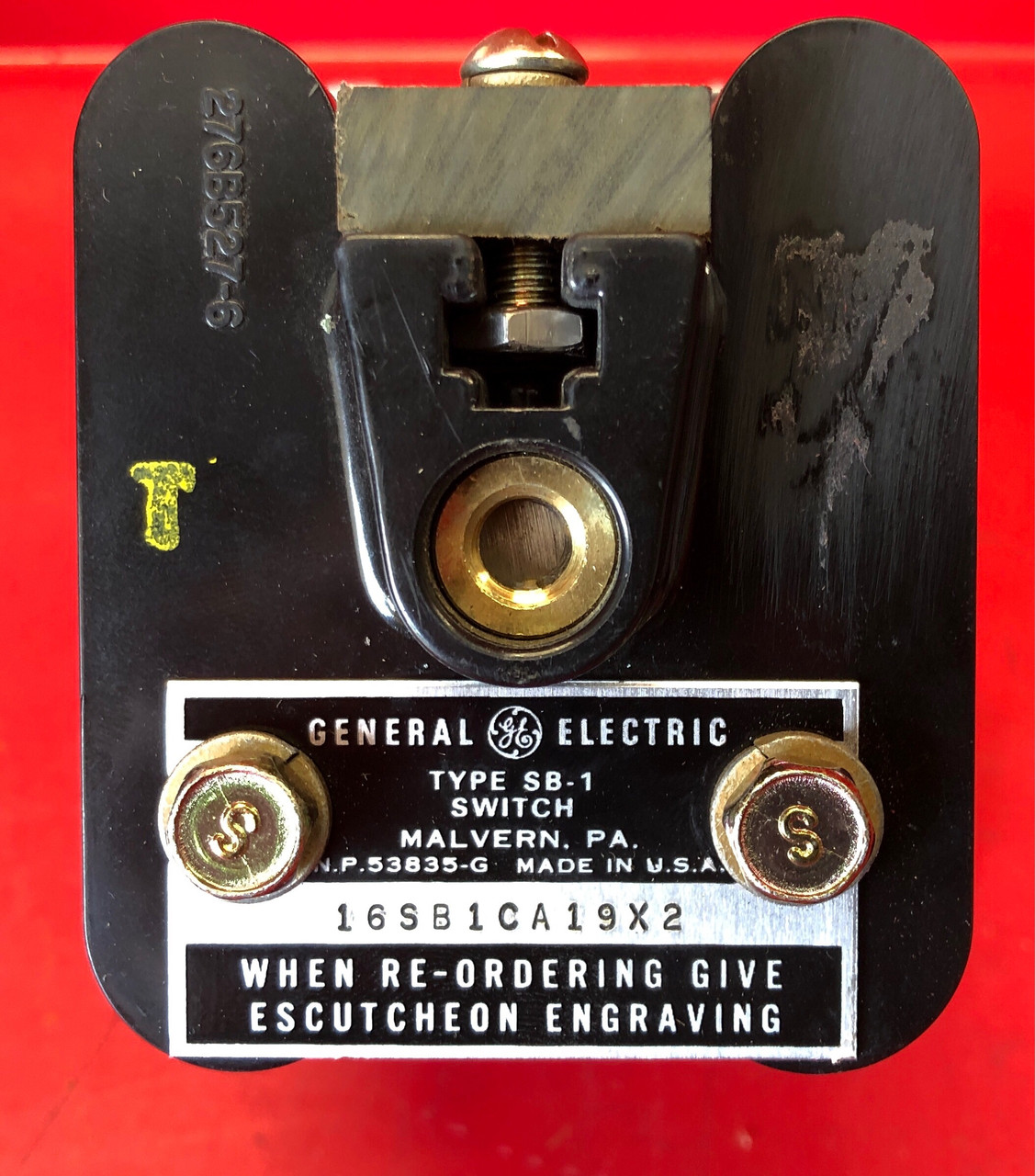 General Electric SB-1 AC AMMETER SWITCH