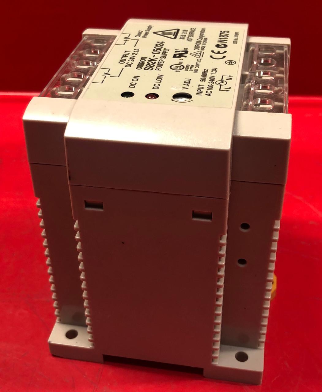 Omron S82K-05024 Power Supply