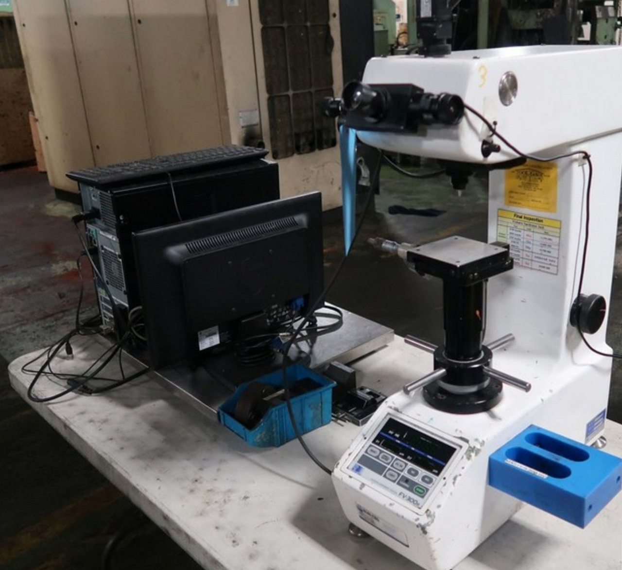Future-Tech FV300e Vickers Hardness Tester w/ Computer