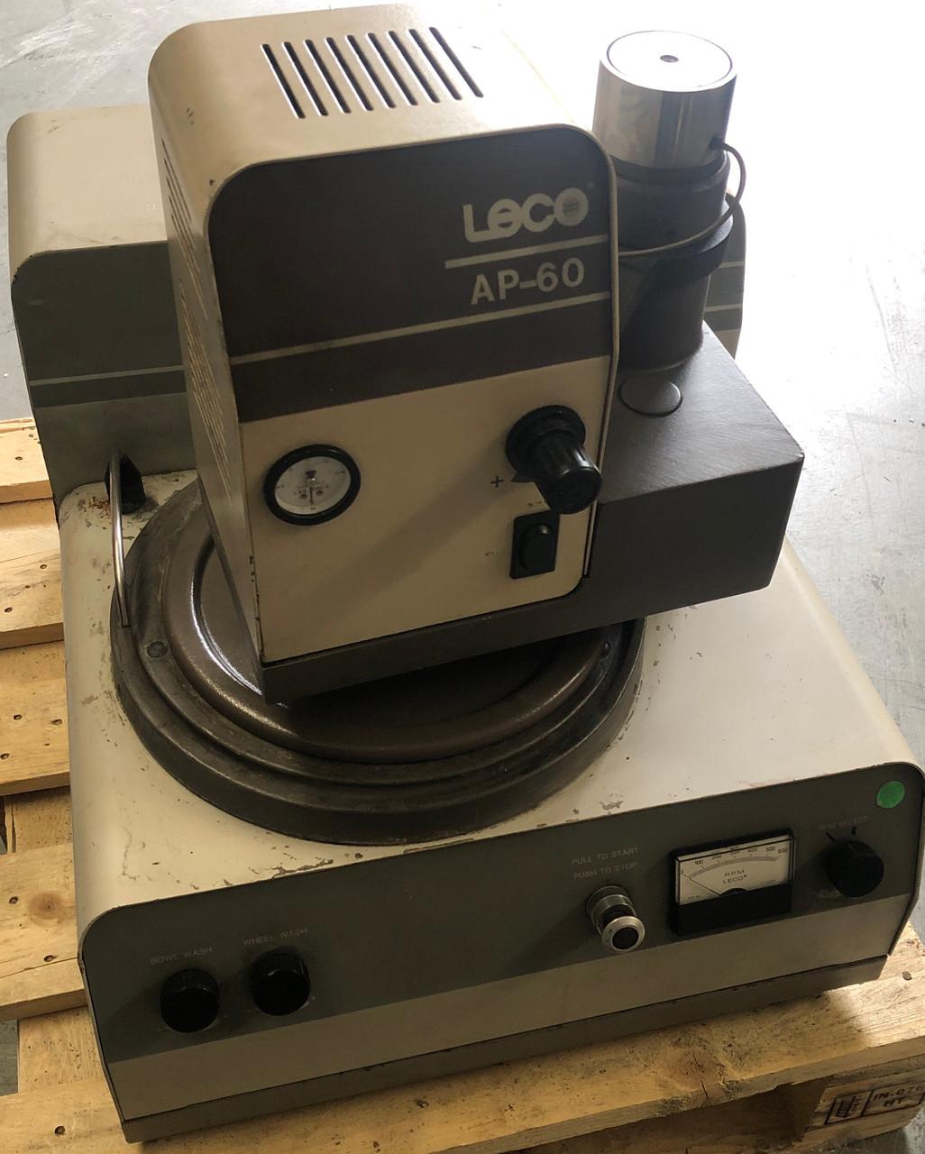 "Leco VP-160 8"" Variable-Speed Polisher Grinder w/AP-60 Auto-Polishing Unit"