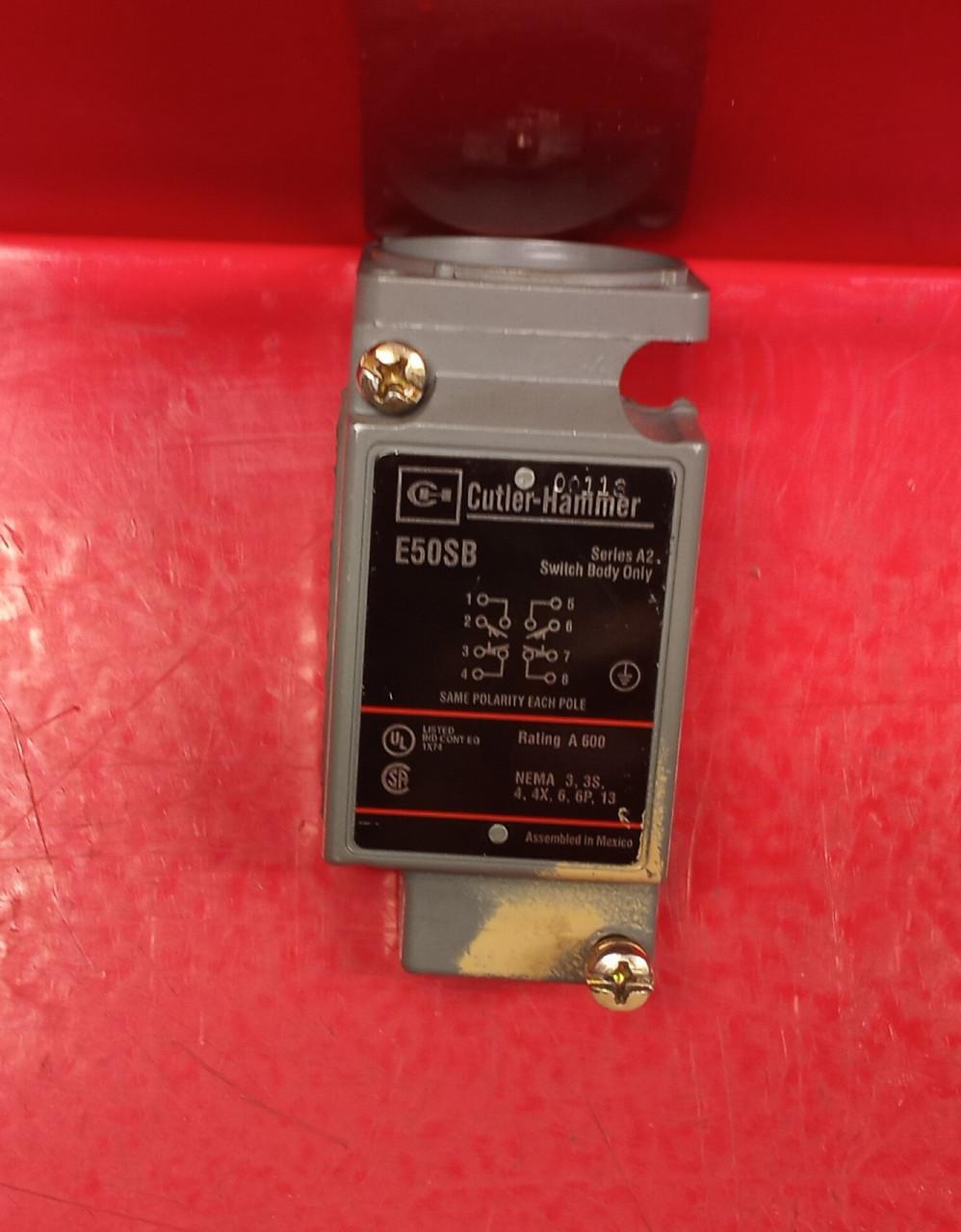 Cutler Hammer E50SB Limit Switch Body