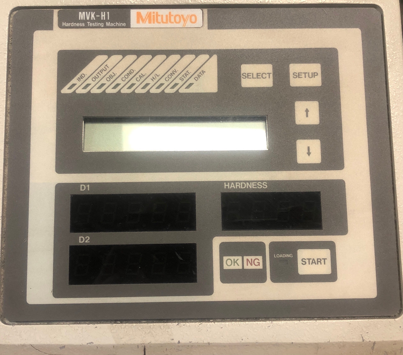 Mitutoyo MVK-H100 Hardness Testing Machine w/ Olympus PM-CP-3