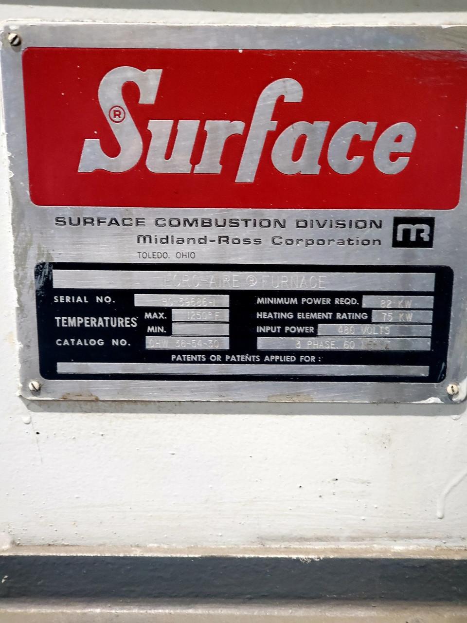 Surface Super 36 (36″ X 54″ X 30″) Electric Temper