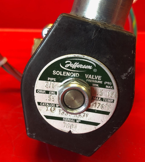 Jefferson Solenoid 1335BA3T 2 Way Valve