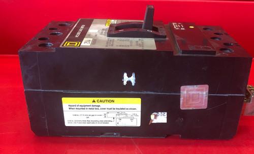 Square D KHL36000M Circuit Breaker, 250 Amps, 3 Pole, 600VAC AC Voltage Rating
