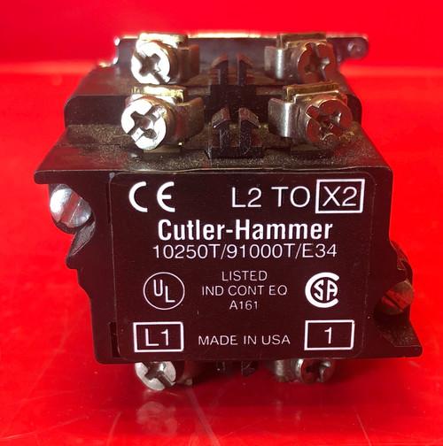 Eaton Cutler Hammer Pilot Light W Green Lens - 10250T/91000T/E34