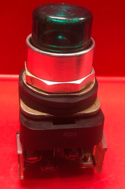 Allen Bradley 800T-PT16 Pilot Light (Green Lens)