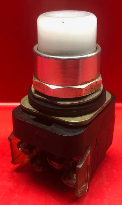 Allen Bradley 800T-PT16 Pilot Light (White Lens)