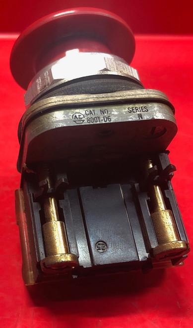 Allen Bradley 800T-D6 Push Button