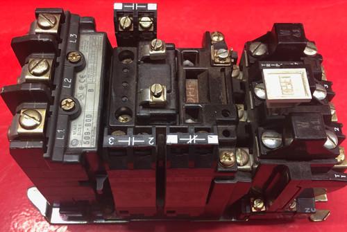 Allen-Bradley 509-BOD Full Voltage Non-Reversing Starter, NEMA 1,  41W