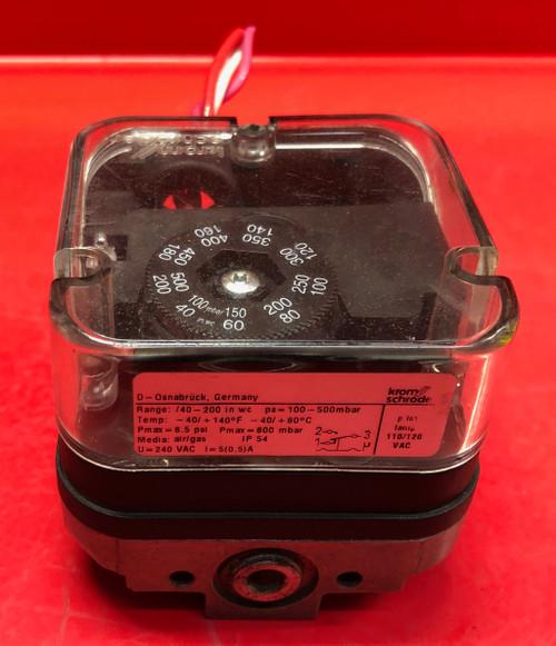 Kromschroder Gas Pressure Switch DG 500T (Used)