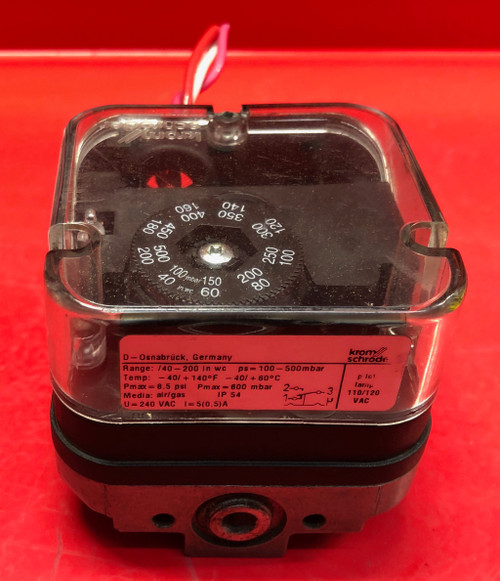 Kromschroder Gas Pressure Switch DG 500T (Used)