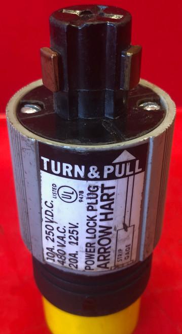 Arrow Hart AH23005 Power Lock Armored Plug