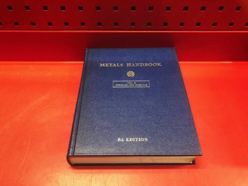 ASM Metals Handbook Volume 5 Forging and Casting 8th Edition