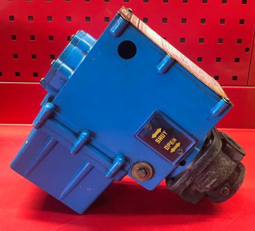"""Asco AH2B104A4 Hydramotor w/ V710 3/4"""" Gas Valve"""