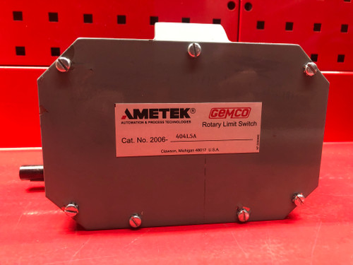 Ametek Gemco 2006 Type K Rotary Limit Switch