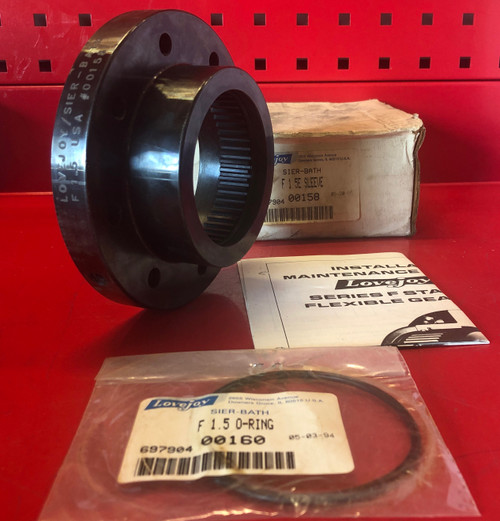 Lovejoy F1 5E Flanged Coupling Sleeve