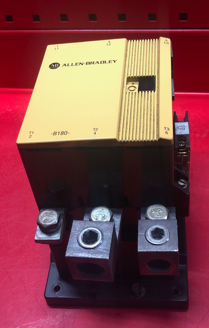 Allen Bradley 100-B180N*3 Magnetic Contactor Only 180A 3Ph 120V Coil - Used