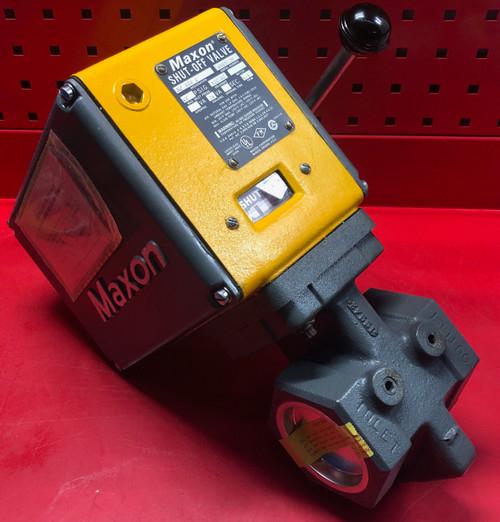 "Maxon 808-0 2-1/2"" Safety Shut-Off Valve - Manual Reset"