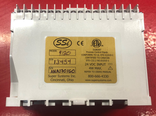 SSI Super Systems 9120 Single/Dual Loop Controller (Part# 13454) - USED