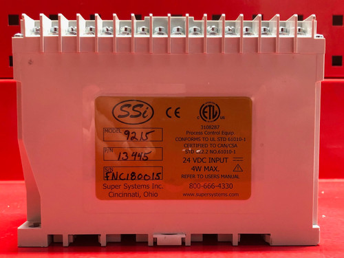 SSi 9215 Nitriding and FNC Furnace Programmable Controller