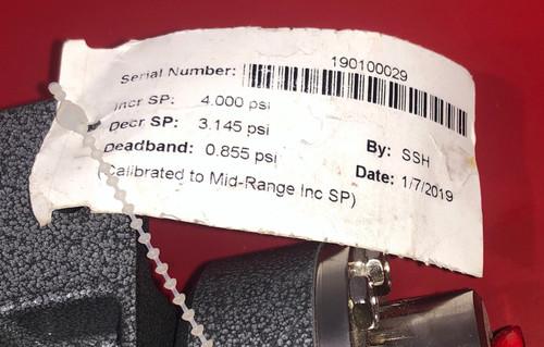 SOR, Inc. 4NN-CA2-M2-C1A Pressure Switch - 2 to 8 PSI