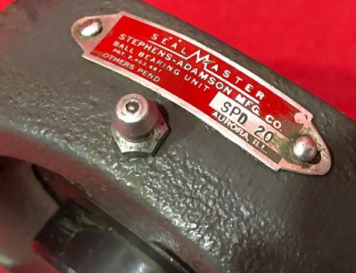 Sealmaster SPD 20 Mounted Bearing