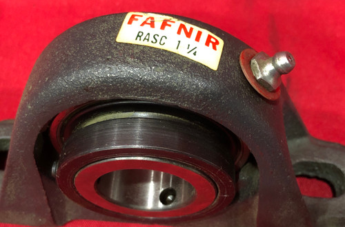 Fafnir RASC 1-1/4 Cast Iron 2 Bolt Ball Bearing Pillow Block