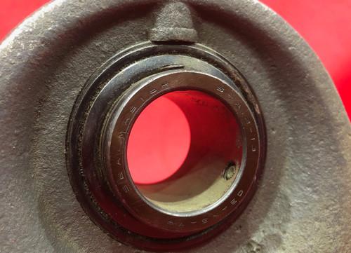 Sealmaster Pillow Block Bearing, 2 Bolt Ball Bearing, 1 7/16 in Bore Dia.