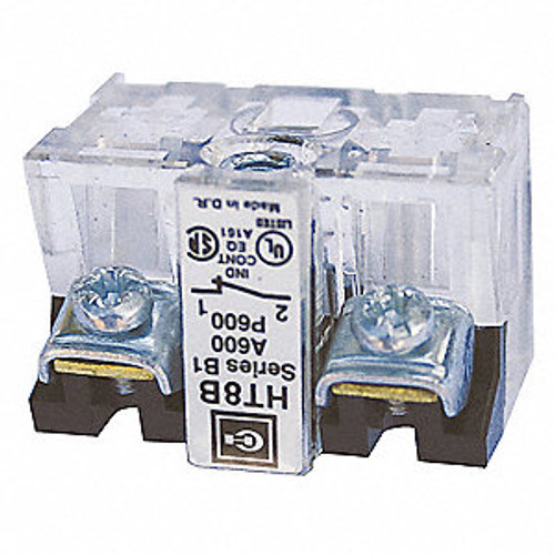Eaton HT8B Contact Block, 30mm 12A @ 600VAC