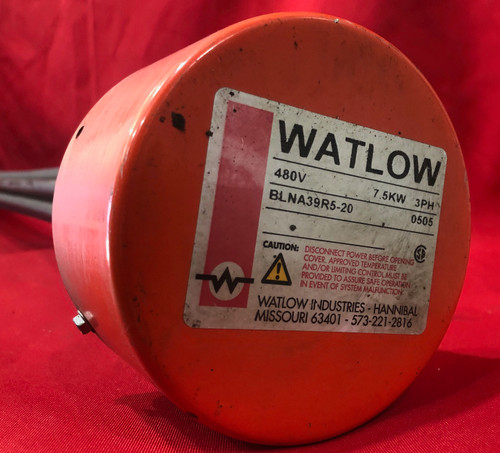 Watlow BLNA39R5-20 Screw Plug Heater - 7.5KW