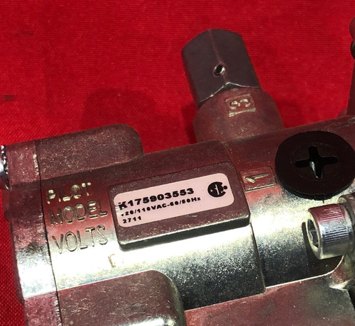 Parker L6553910253  Valvair II Series Manifold Mounted Solenoid Operated Directional Control Valve