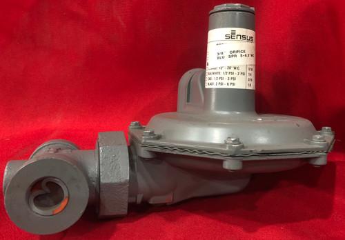 """Sensus 143-80 Gas Pressure Blue Spring Regulator 1"""" (5"""" - 8"""" w.c.) 10PSI"""