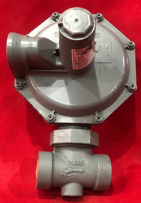 Sensus 143-80-2 Black/White Spring Gas Regulator