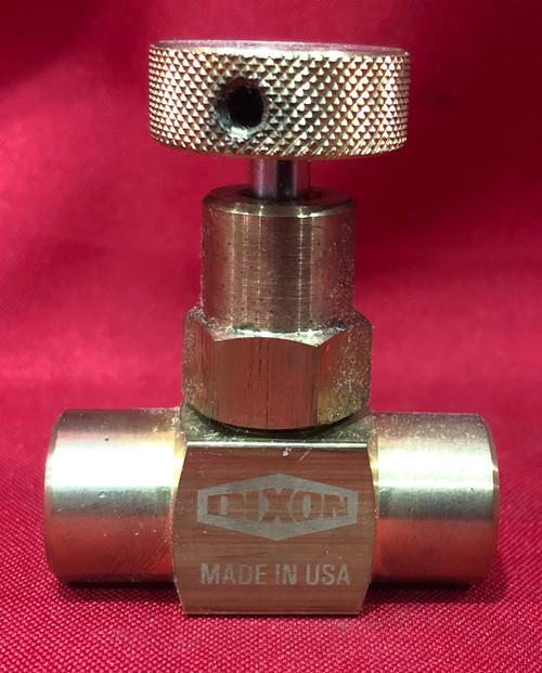 Dixon Valve FFB101 NPT F-F Brass Mini Valve