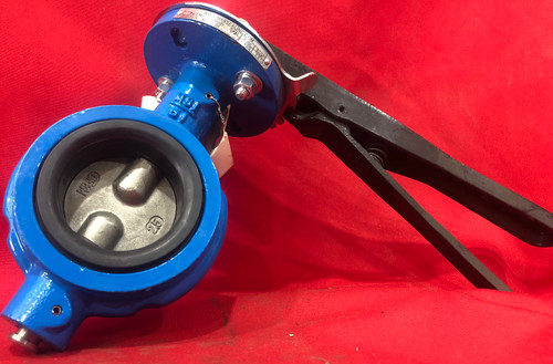 """Max Seal 51-DI-SS-S6-N-65 Butterfly Valve 2.5"""""""