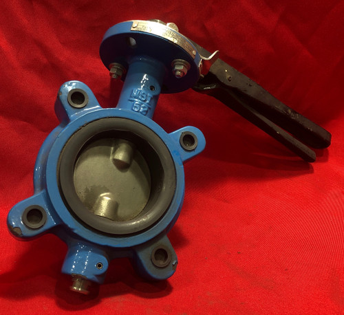 """Max Seal 52-DI-SS-S6-V-N-80 Butterfly Valve 3"""""""