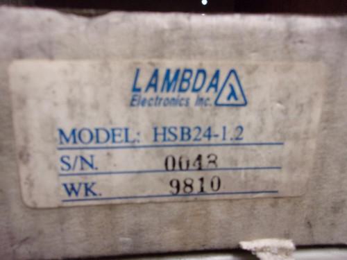 Lambda HSB24-1.2 DC Power Supply