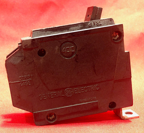 GE Miniature Circuit Breaker, Amps 20, Circuit Breaker Type Standard, Number of Poles 1
